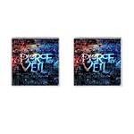 Pierce The Veil Quote Galaxy Nebula Cufflinks (Square)