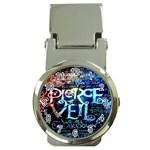 Pierce The Veil Quote Galaxy Nebula Money Clip Watches
