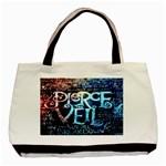 Pierce The Veil Quote Galaxy Nebula Basic Tote Bag