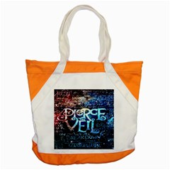 Pierce The Veil Quote Galaxy Nebula Accent Tote Bag by Onesevenart