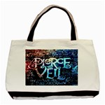 Pierce The Veil Quote Galaxy Nebula Basic Tote Bag (Two Sides)