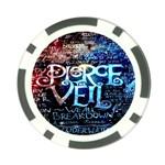 Pierce The Veil Quote Galaxy Nebula Poker Chip Card Guards