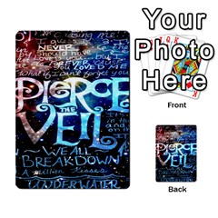 Pierce The Veil Quote Galaxy Nebula Multi Purpose Cards (rectangle)  by Onesevenart