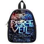 Pierce The Veil Quote Galaxy Nebula School Bags (Small)