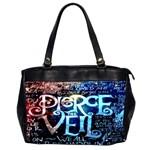 Pierce The Veil Quote Galaxy Nebula Office Handbags (2 Sides)