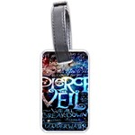 Pierce The Veil Quote Galaxy Nebula Luggage Tags (Two Sides)