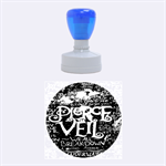 Pierce The Veil Quote Galaxy Nebula Rubber Round Stamps (Medium)