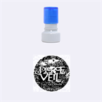 Pierce The Veil Quote Galaxy Nebula Rubber Round Stamps (Small)