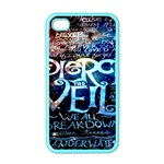 Pierce The Veil Quote Galaxy Nebula Apple iPhone 4 Case (Color)