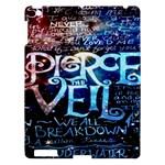 Pierce The Veil Quote Galaxy Nebula Apple iPad 3/4 Hardshell Case