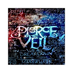 Pierce The Veil Quote Galaxy Nebula Acrylic Tangram Puzzle (6  X 6 ) by Onesevenart