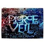 Pierce The Veil Quote Galaxy Nebula Cosmetic Bag (XXL)