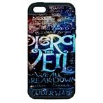 Pierce The Veil Quote Galaxy Nebula Apple iPhone 5 Hardshell Case (PC+Silicone)
