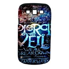 Pierce The Veil Quote Galaxy Nebula Samsung Galaxy S Iii Classic Hardshell Case (pc+silicone) by Onesevenart