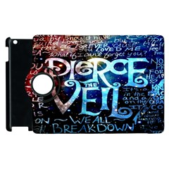 Pierce The Veil Quote Galaxy Nebula Apple Ipad 3/4 Flip 360 Case by Onesevenart