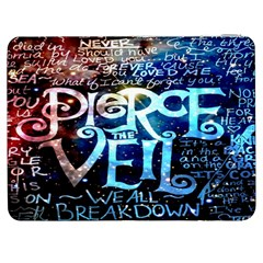 Pierce The Veil Quote Galaxy Nebula Samsung Galaxy Tab 7  P1000 Flip Case by Onesevenart