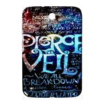 Pierce The Veil Quote Galaxy Nebula Samsung Galaxy Note 8.0 N5100 Hardshell Case