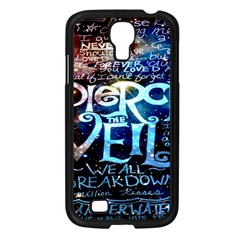 Pierce The Veil Quote Galaxy Nebula Samsung Galaxy S4 I9500/ I9505 Case (black) by Onesevenart
