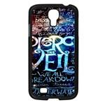Pierce The Veil Quote Galaxy Nebula Samsung Galaxy S4 I9500/ I9505 Case (Black)
