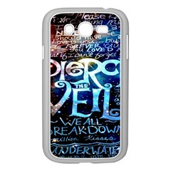 Pierce The Veil Quote Galaxy Nebula Samsung Galaxy Grand Duos I9082 Case (white) by Onesevenart