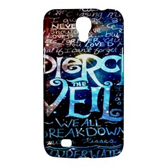 Pierce The Veil Quote Galaxy Nebula Samsung Galaxy Mega 6 3  I9200 Hardshell Case by Onesevenart