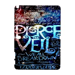 Pierce The Veil Quote Galaxy Nebula Samsung Galaxy Note 10 1 (p600) Hardshell Case by Onesevenart