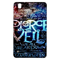 Pierce The Veil Quote Galaxy Nebula Samsung Galaxy Tab Pro 8 4 Hardshell Case by Onesevenart