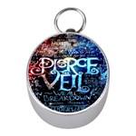 Pierce The Veil Quote Galaxy Nebula Mini Silver Compasses