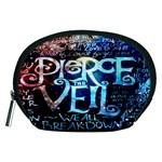 Pierce The Veil Quote Galaxy Nebula Accessory Pouches (Medium)