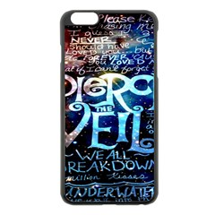 Pierce The Veil Quote Galaxy Nebula Apple Iphone 6 Plus/6s Plus Black Enamel Case by Onesevenart