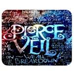 Pierce The Veil Quote Galaxy Nebula Double Sided Flano Blanket (Medium)