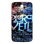 Pierce The Veil Quote Galaxy Nebula Samsung Galaxy Mega I9200 Hardshell Back Case