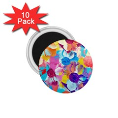 Anemones 1 75  Magnets (10 Pack)  by DanaeStudio