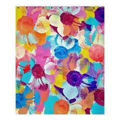 Anemones Shower Curtain 60  X 72  (medium)  by DanaeStudio