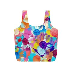 Anemones Full Print Recycle Bags (s)  by DanaeStudio