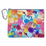 Anemones Canvas Cosmetic Bag (XXL)