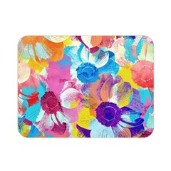 Anemones Double Sided Flano Blanket (mini)  by DanaeStudio