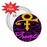 Prince Poster 2.25  Buttons (10 pack)