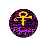 Prince Poster Magnet 3  (Round)