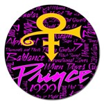 Prince Poster Magnet 5  (Round)