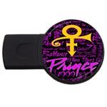 Prince Poster USB Flash Drive Round (2 GB)