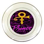 Prince Poster Porcelain Plates