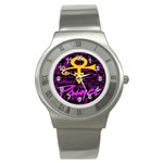 Prince Poster Stainless Steel Watch