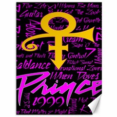Prince Poster Canvas 36  X 48   by Onesevenart
