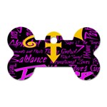 Prince Poster Dog Tag Bone (Two Sides)