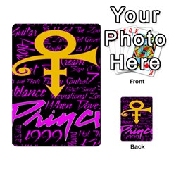 Prince Poster Multi Purpose Cards (rectangle)  by Onesevenart