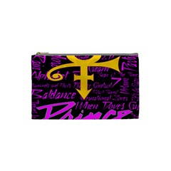 Prince Poster Cosmetic Bag (small)  by Onesevenart