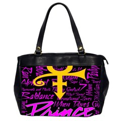 Prince Poster Office Handbags (2 Sides)  by Onesevenart