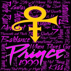 Prince Poster Magic Photo Cubes by Onesevenart