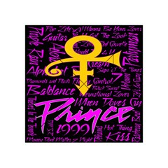 Prince Poster Acrylic Tangram Puzzle (4  X 4 ) by Onesevenart